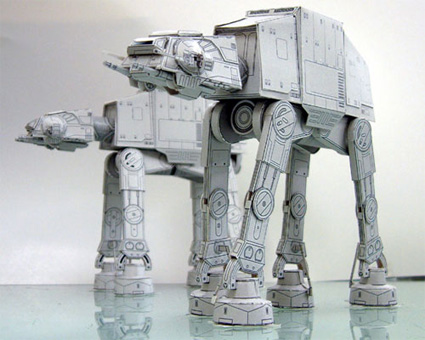 papertoy-starwar-snowmobile