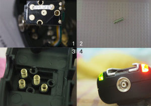 YongNuo RF-603 Nikon with EM-5